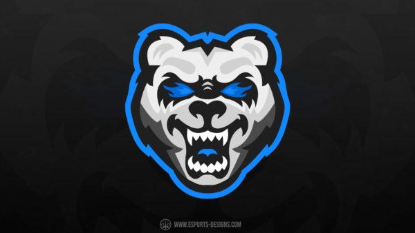 Angry-Bear Gaming Mascot Logo