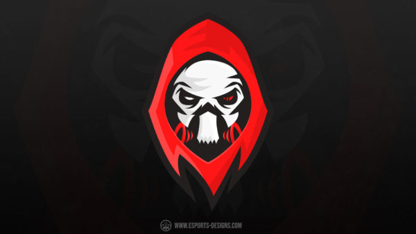 Black-Death eSports Logo Template