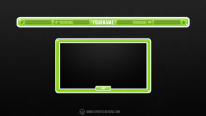 Cute Cartoon - overlay and facecam designs