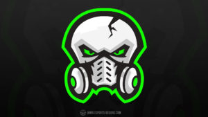 Robotic-Skull Template Logo Twitch